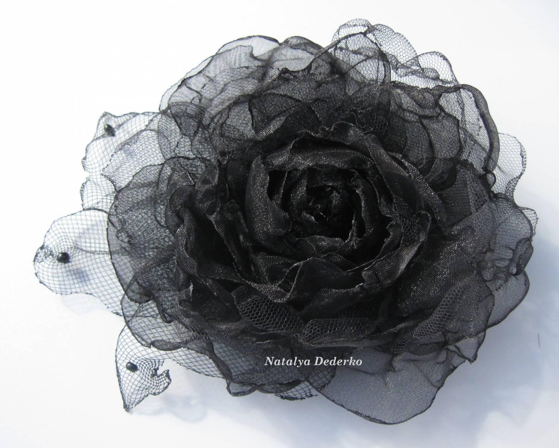 Черная роза своими руками 42